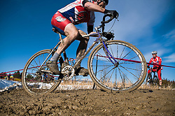 2009 OCT 31-The 2009 Blue Sky Velo Cup, a UCI C2 cylcocross race, is held in Longmont, Colorado on October 31st. The Blue Sky Velo Cup was the highest attended cyclocross race in Colorado in 2008 with close to 600 racers. Saturday's race at the Xilinx campus is a Colorado favorite and host of past national level racing <br /> and the Colorado state championships.