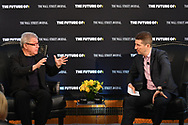 The Wall Street Journal The Future of : Smart Cities Interview featuring Daniel Libeskind, founder and Principal Architect Studio Daniel Libeskind with Dennis Berman, Wall Stret Journal Financial Editor, in New York City on June 21, 2017. (photo by Gabe Palacio)