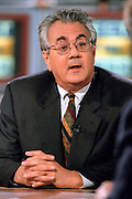 Rep. Barney Frank discusses President Clinton's grand jury testimony on Meet the Press August 16th, 1998 in Washington, DC.