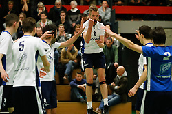 20170125 NED: Beker, Sliedrecht Sport - Seesing Personeel Orion: Sliedrecht<br />Carl Zwijnenburg (3) of Sliedrecht Sport <br />&copy;2017-FotoHoogendoorn.nl / Pim Waslander