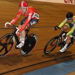 20-12-2015: Wielrennen: NK Baan: Alkmaar<br />ALKMAAR (NED) baanwielrennen<br />Ligthart en Stroetinga streden om de titel. De Nijkerker ging met de titel aan de haal