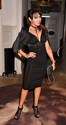 Lizzie Cundy at PPQ LFW Autumn Winter 2017 show, Crypt on the Green, Clerkenwell, London England. 17 February 2017.