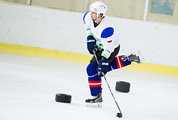 David Rodman during practice session with Anze Kopitar, NHL star and player of Los Angeles Kings before departure to USA, on September 3, 2014 in Ledna dvorana Bled, Slovenia. Photo by Vid Ponikvar  / Sportida.com