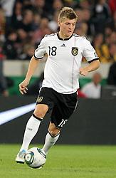 GER, Commerzbank Arena, GER, Stuttgart, FSP, LS, Deutschland (GER) vs Brasilien (BRA), im Bild .. Toni Kroos (GER/FC Bayern München) // durch the friendly ship between Germany (GER) vs Brasil (BRA) in Commerzbank Arena, Stuttgart, on 2011/08/11 EXPA Pictures © 2011, PhotoCredit: EXPA/ nph/  Hessland       ****** out of GER / CRO  / BEL ******