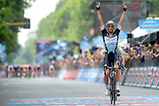 Foto LaPresse - Fabio Ferrari<br /> 31/05/2015 Torino  (Italia)<br /> Sport Ciclismo<br /> Giro d'Italia 2015 - 98a edizione - Tappa 21 - da Torino a Milano - 178 km ( 110,6 miglia )<br /> Nella foto:Iljo Keisse (ETIXX - QUICK-STEP) vincitore di tappa<br /> <br /> Photo LaPresse - Fabio Ferrari<br /> 31 May 2015  Turin (Italy)<br /> Sport Cycling<br /> Giro d'Italia 2015 - 98a edizione - Stage 21 - from Turin to Milan  - 178 km ( 110,6 miles) <br /> In the pic:Iljo Keisse (ETIXX - QUICK-STEP)