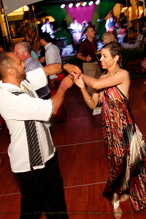 John & Monica Rogers of the ADAMHS Board dance to the music of Pirates of the Caribooty during the 6th Annual Clambake for Kids' Sake benefiting Big Brothers Big Sisters of the Miami Valley at The Greene, Saturday, June 22, 2013.