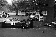 16/09/1967<br /> 09/16/1967<br /> 16 September 1967<br /> Phoenix Park Motor Racing, Kingsway Trophy Race, sponsored by Player and Wills (Ireland) Limited. Image shows H. McGarrity's MGB (37) and G.W. Drew's A-H Sprite (39).