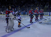 KELOWNA, CANADA - OCTOBER 28:  Pepsi Player of the Game in the lineup at the Kelowna Rockets game on October 28, 2017 at Prospera Place in Kelowna, British Columbia, Canada.  (Photo By Cindy Rogers/Nyasa Photography,  *** Local Caption ***