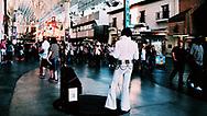 Elvis used to draw bigger crowds in Las Vegas.