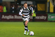 Forest Green Rovers Lee Collins(5) runs forward during the EFL Sky Bet League 2 match between Cambridge United and Forest Green Rovers at the Cambs Glass Stadium, Cambridge, England on 26 September 2017. Photo by Shane Healey.