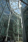 CityPoint building, Moorgate, City of London, England architect Santiago Calatrava completed 2002.