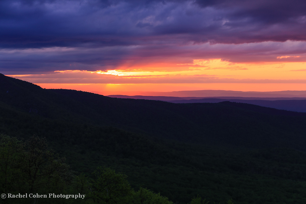 &quot;As Night Falls on the Ridges&quot;<br />