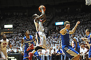 """Ole Miss' Derrick Millinghaus (3) vs. Kentucky at the C.M. """"Tad"""" Smith Coliseum on Tuesday, January 29, 2013."""