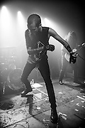 Skeletonwitch performs at Saint Vitus Bar in Greenpoint Brooklyn, October 28, 2016