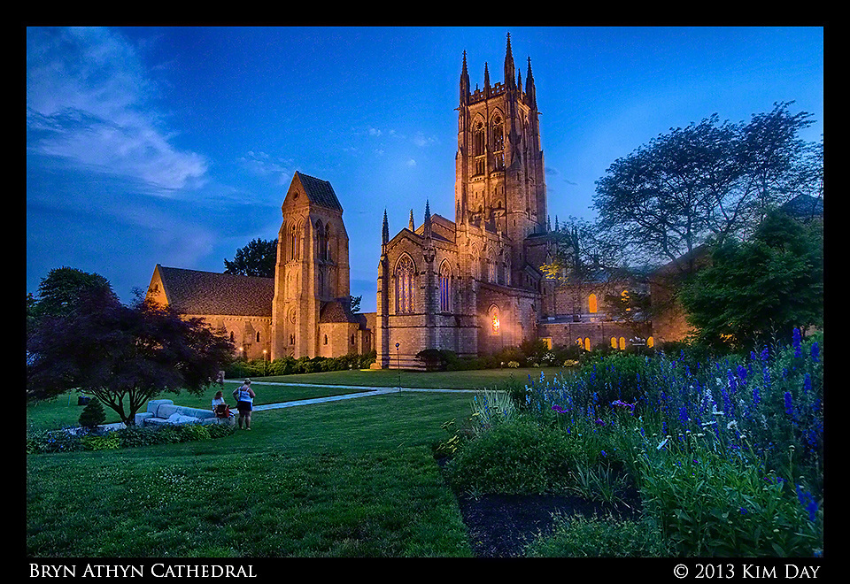 Cathedral Glow<br /> Bryn Athyn Cathedral<br /> June 2013