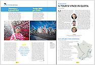 Nibali vince il Giro d'Italia 2016 - Pubblication on Sportweek 2 luglio 2016