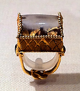 Rock crystal ring. Greek 2nd–1st century B.C.