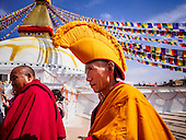 Ceremony to Consecrate Boudhanath Stupa