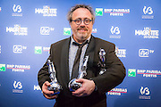 Jaco Van Dormael, winner of the Best Movie, at the 6th edition of the Magritte Awards of the Belgian French speaking movie industry.