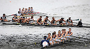 Boston, USA, Club Men's eights,  No 9 Zog RC  [Datmouth Alumni] passing under Eliot Bridge. clash with No 12 Yale University.  Head of the Charles, Race Charles River,  Cambridge,  Massachusetts. Saturday  20/10/2007 [Mandatory Credit Peter Spurrier/Intersport Images]..... , Rowing Course; Charles River. Boston. USA
