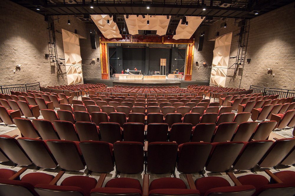 High School for the Performing and Visual Arts auditorium, December 16, 2013.