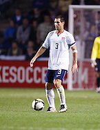 Carlos Bocanegra (3). The U.S. Men's National Team defeated Trinidad & Tobago 3-0 at Toyota Park in Bridgeview, IL on September 10, 2008.