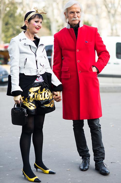 Fashion Couple, Outside Junya Watanabe FW2015
