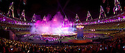 Start of the Paralympic closing ceremony, London 2012