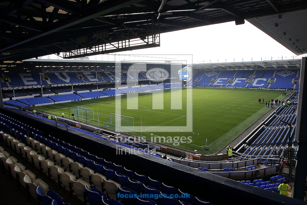 General view of Goodison Park, Liverpool.<br /> Picture by Michael Sedgwick/Focus Images Ltd +44 7900 363072<br /> 04/10/2015