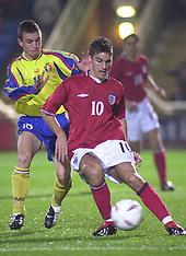 ENGLAND UNDER 19s 2002