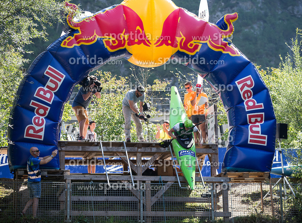 10.09.2016, Lienz, AUT, Red Bull Dolomitenmann 2016, Kajak, im Bild Gerhard Schmid (AUT, Kanute vom Team PURE ENCAPSULATIONS) // during the Kayak of the 2016 Red Bull Dolomitenmann at the Lienz, Austria on 2016/09/10. EXPA Pictures © 2016, PhotoCredit: EXPA/ Johann Groder