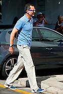 3-08-2015 - PALMA DE MALLORCA Spain's King Felipe VI arrives at the Marina for the Copa del Rey 2015 . COPYRIGHT ROBIN UTRECHT<br /> 2015/03/08 - PALMA DE MALLORCA Spaanse koning Felipe VI komt bij de jachthaven van de Copa del Rey 2015. COPYRIGHT ROBIN UTRECHT