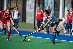 England's Ellie Watton. England v Belgium, Bisham Abbey, Marlow, UK on 09 May 2014. Photo: Simon Parker