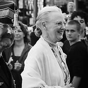 Hendes Majestæt Dronning Margrethe.