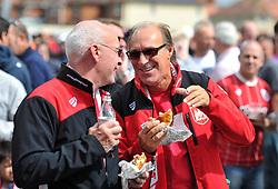 Bristol City supporters at Ashton Gate - Mandatory by-line: Paul Knight/JMP - 19/08/2017 - FOOTBALL - Ashton Gate Stadium - Bristol, England - Bristol City v Millwall - Sky Bet Championship