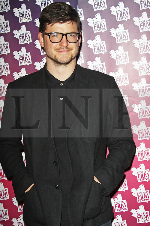 © London News Pictures. 25/06/2013. London, UK. James Alexandrou at the East London Film Festival - The UK Gold Premiere. Photo credit : Brett D. Cove/LNP