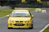 #21 David Heasman MG ZR 160 during the The John Woods Motorcars MG Trophy Championship at Oulton Park, Little Budworth, Cheshire, United Kingdom. September 03 2016. World Copyright Peter Taylor/PSP.