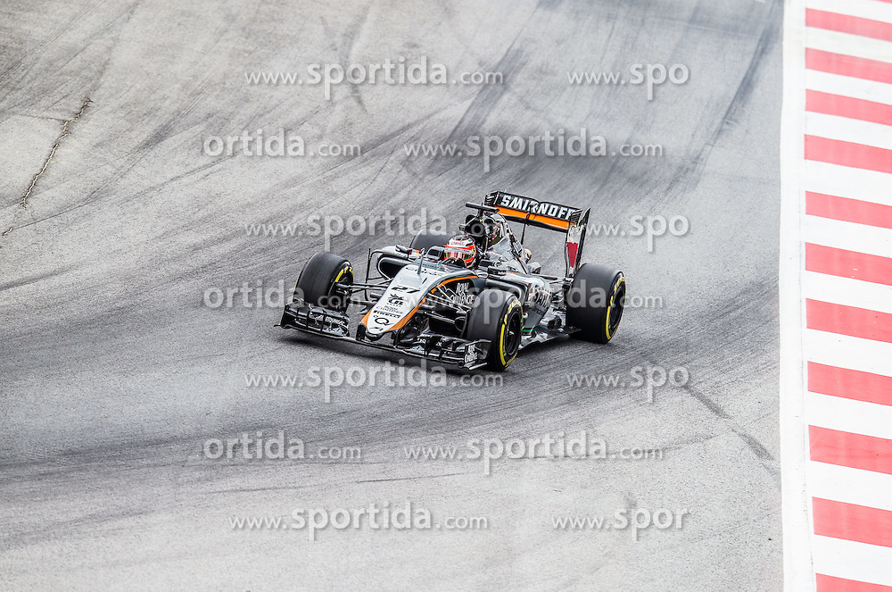19.06.2015, Red Bull Ring, Spielberg, AUT, FIA, Formel 1, Grosser Preis von Österreich, Training, im Bild Nico Huelkenberg, (GER, Sahara Force India F1 Team) // during the Practice for the Austrian Formula One Grand Prix at the Red Bull Ring in Spielberg, Austria, 2015/06/19, EXPA Pictures © 2015, PhotoCredit: EXPA/ Dominik Angerer