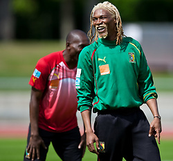 21.05.2010, Dolomitenstadion, Lienz, AUT, WM Vorbereitung, Kamerun Training im Bild Rigobert Song, Abwehr, Nationalteam Kamerun (Trabzonspur), EXPA Pictures © 2010, PhotoCredit: EXPA/ J. Feichter / SPORTIDA PHOTO AGENCY