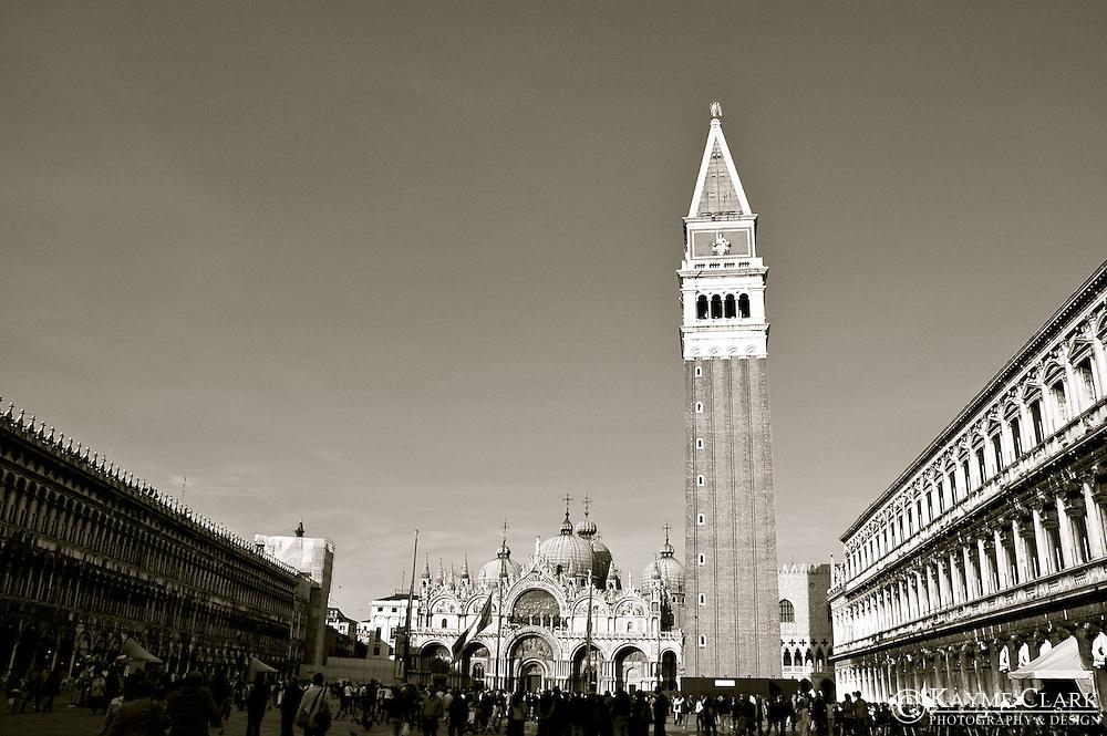 St. Mark's Square (Piazza San Marco), Venice, Veneto, Italy, Europe
