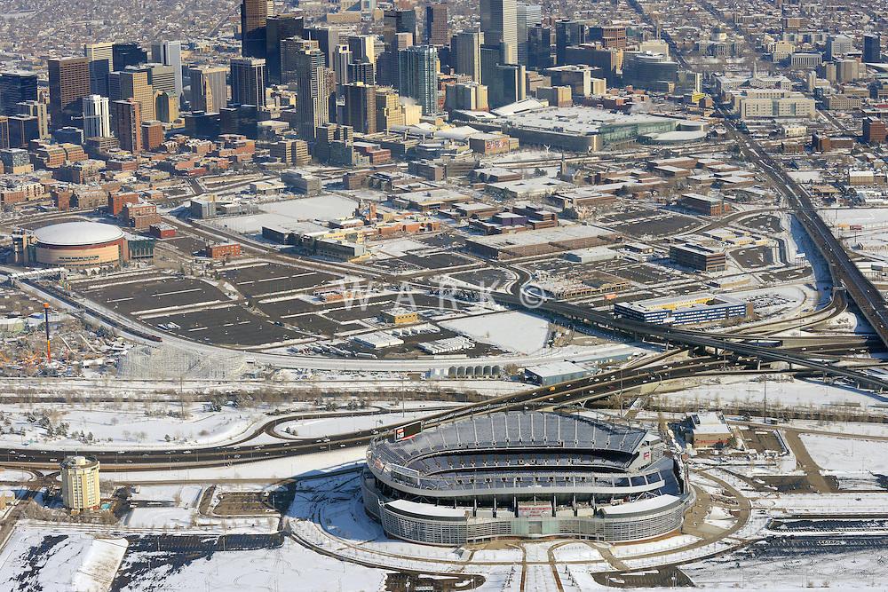 Invesco Field, Bronco stadium, Jan 2014. 89471