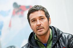 Coach Primoz Vrhovnik during press conference of Slovenian Ski cross team on November 5, 2013 in SZS, Ljubljana, Slovenia. (Photo by Vid Ponikvar / Sportida)
