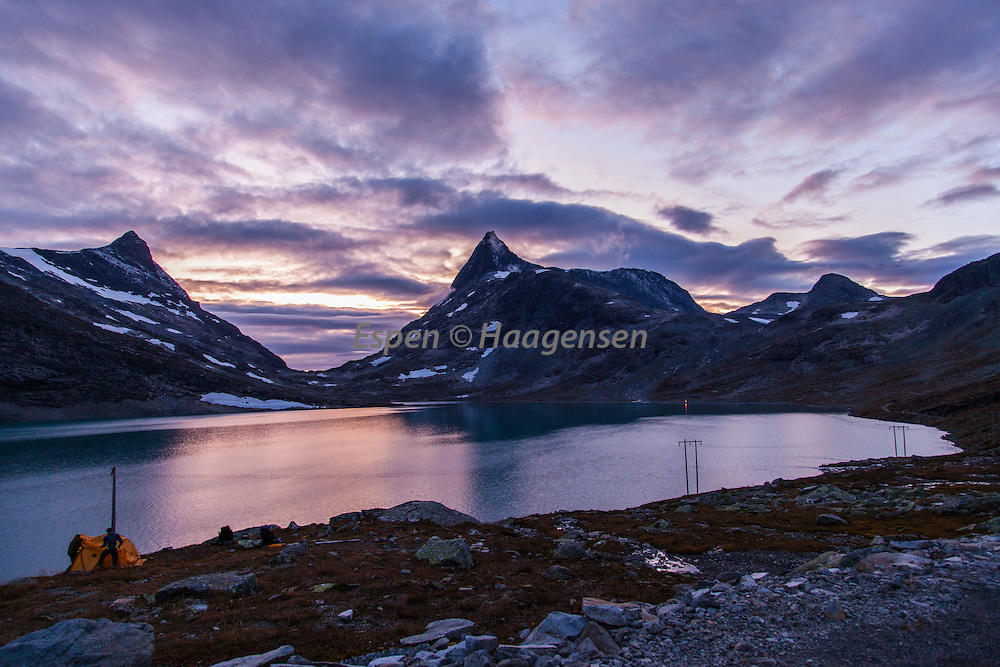 Camping in Koldedalen