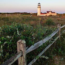 The Cape Cod Lighthouse in Truro, Massachusetts.