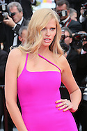 """CANNES, FRANCE - MAY 21:  Lara Stone attends the """"The Search"""" Premiere at the 67th Annual Cannes Film Festival on May 21, 2014 in Cannes, France.  (Photo by Tony Barson/FilmMagic)"""