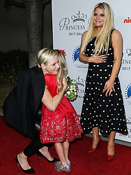 2017 Princess Grace Awards Gala Kickoff Event held at Paramount Studios on October 24, 2017 in Hollywood, California. 24 Oct 2017 Pictured: Princess Charlene of Monaco, Maxwell Johnson, Jessica Simpson. Photo credit: IPA/MEGA TheMegaAgency.com +1 888 505 6342
