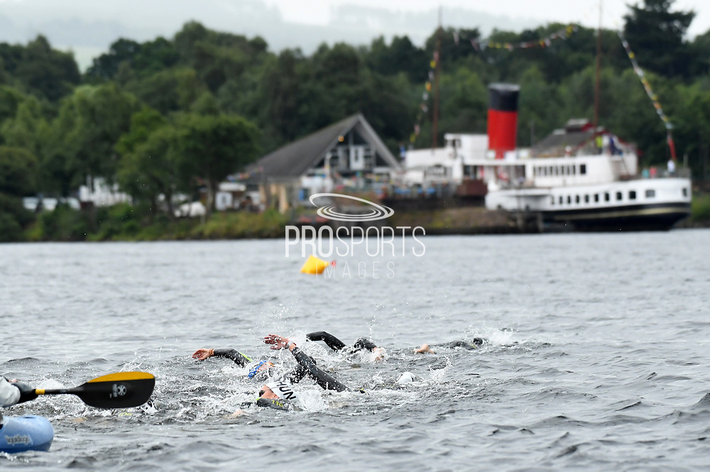 Illustration on 25 kms Open Water during the Swimming European Championships Glasgow 2018, at Tollcross International Swimming Centre, in Glasgow, Great Britain, Day 11, on August 12, 2018 - Photo Stephane Kempinaire / KMSP / ProSportsImages / DPPI