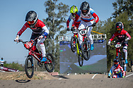 #110 (SMULDERS Laura) NED  at Round 9 of the 2019 UCI BMX Supercross World Cup in Santiago del Estero, Argentina