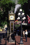 Steam Clock, Gastown, Vancouver, Canada<br />