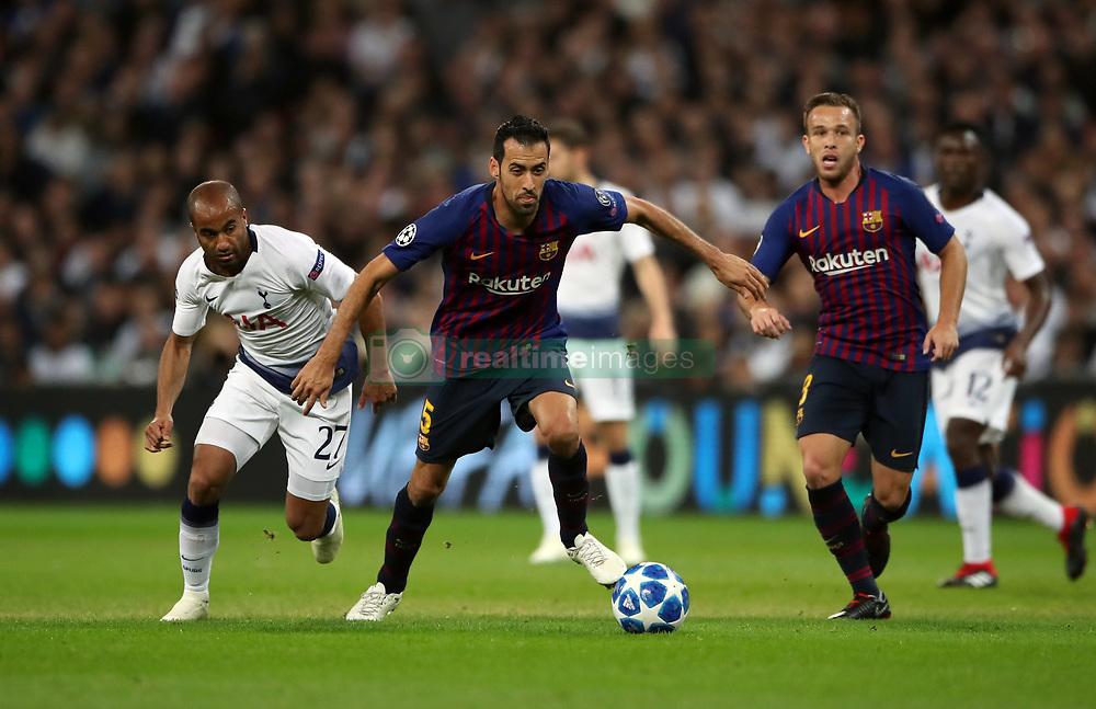 صور مباراة : توتنهام - برشلونة 2-4 ( 03-10-2018 )  38927702